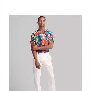 Polo Ralph Lauren Custom Fit Graphic Camp Shirt